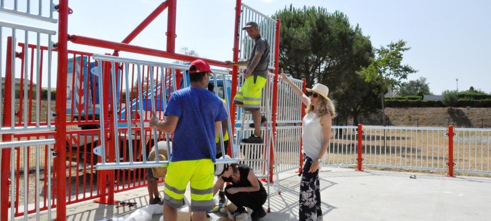 travaux estivaux dans les écoles et sur les aires de jeux