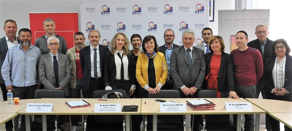 """contrat """"bourgs-centres"""" : première signature en occitanie"""