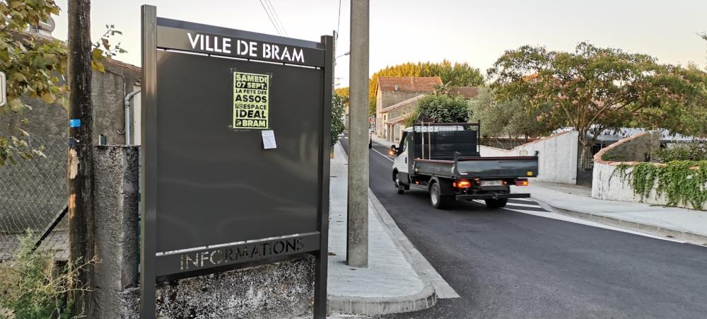 de nouveaux panneaux d'information en ville