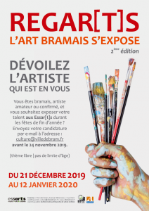Exposition : Regar[t]s, l'art bramais s'expose !