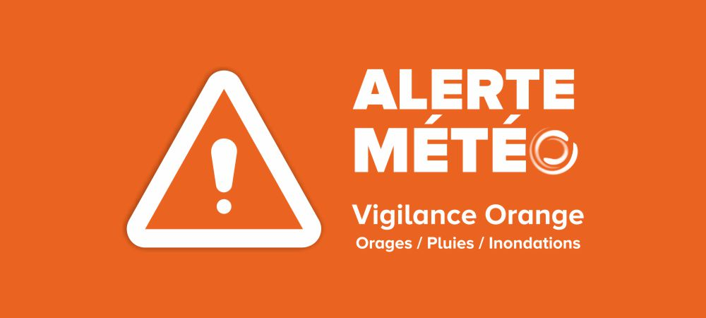 alerte météo : vigilance orange