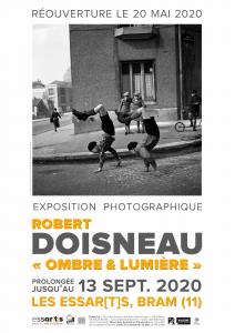 """Exposition """"Robert Doisneau : Ombre & Lumière"""" (prolongations)"""