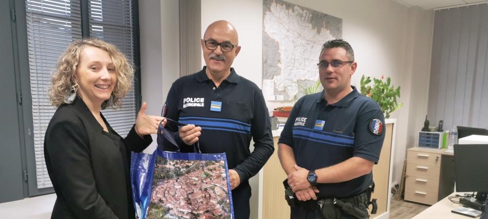 un nouvel agent à la Police Municipale
