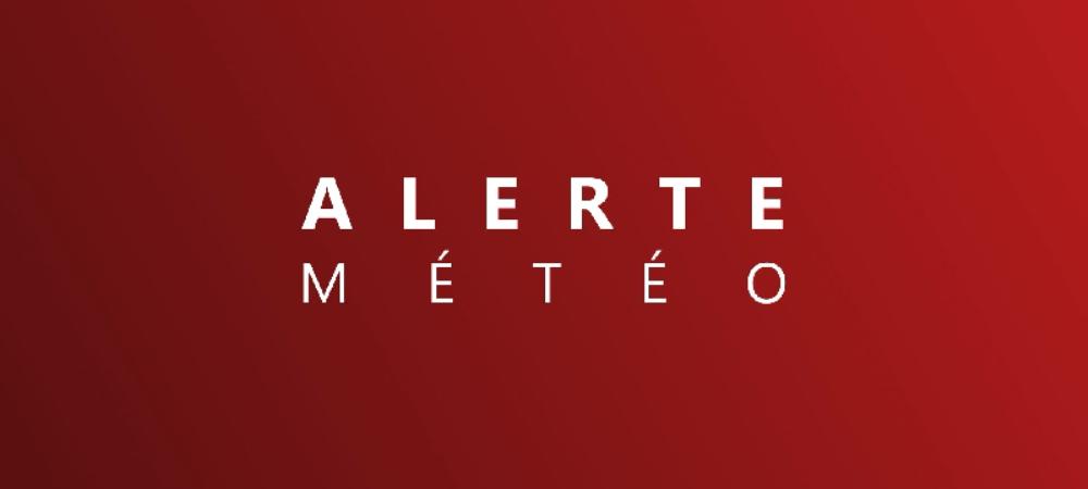 alerte météo : vigilance ROUGE
