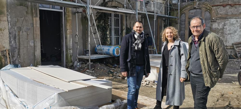 Point d'étape pour le chantier de l'ancienne Maison des Associations