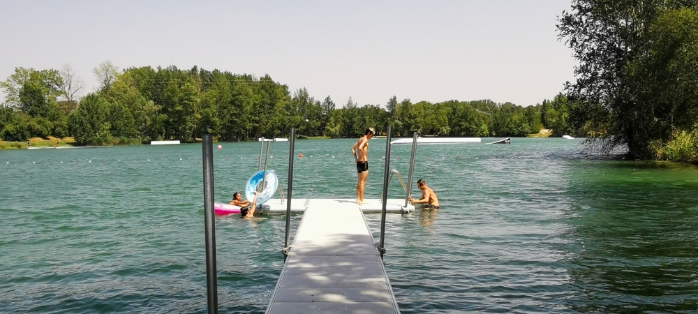 """Détente et baignade cet été au """"Ponton"""" !"""