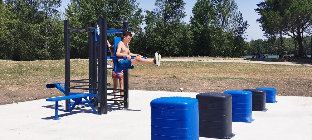 """Place au """"Fitness"""" au bord du Lac"""