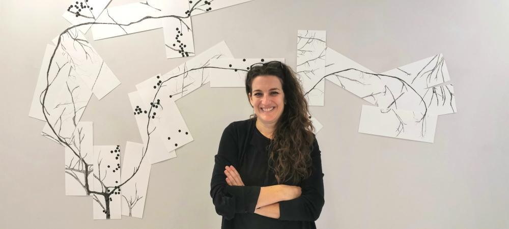 Exposition : Ursula Caruel - Naître qu'un arbre