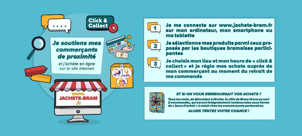 Vos achats en ligne sur www.jachete-bram.fr